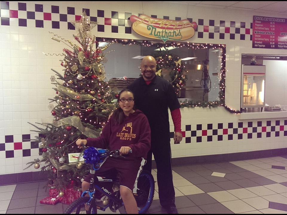 howell and christmas bike giveaway